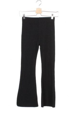 Детски панталон River Island, Размер 9-10y/ 140-146 см, Цвят Черен, 95% полиестер, 5% еластан, Цена 9,31лв.