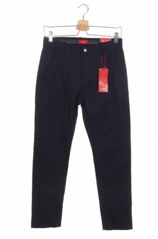 Παιδικό παντελόνι S.Oliver, Μέγεθος 11-12y/ 152-158 εκ., Χρώμα Μπλέ, Βαμβάκι, Τιμή 21,58€