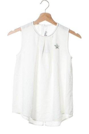 Μπλουζάκι αμάνικο παιδικό Inside, Μέγεθος 10-11y/ 146-152 εκ., Χρώμα Λευκό, Πολυεστέρας, Τιμή 6,62€