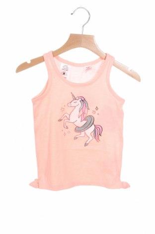 Μπλουζάκι αμάνικο παιδικό Oshkosh, Μέγεθος 2-3y/ 98-104 εκ., Χρώμα Ρόζ , 60% βαμβάκι, 40% πολυεστέρας, Τιμή 8,37€
