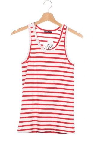 Μπλουζάκι αμάνικο παιδικό Petit Bateau, Μέγεθος 15-18y/ 170-176 εκ., Χρώμα Λευκό, Βαμβάκι, Τιμή 19,74€