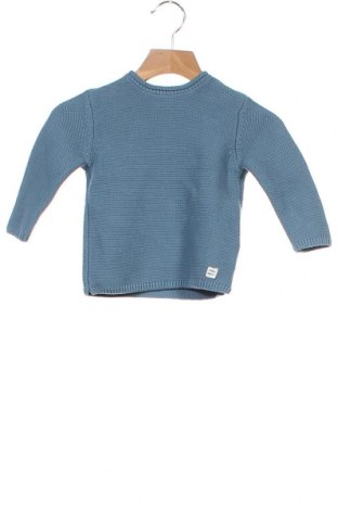 Dětský svetr  Zara Kids, Velikost 9-12m/ 74-80 cm, Barva Modrá, Bavlna, Cena  399,00Kč