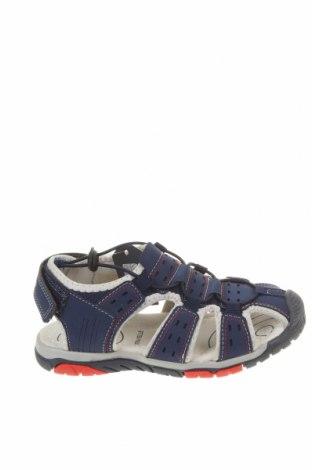 Детски сандали, Размер 32, Цвят Син, Еко кожа, текстил, Цена 28,47лв.