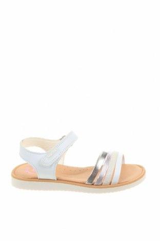 Детски сандали Pablosky, Размер 27, Цвят Бял, Естествена кожа, еко кожа, Цена 69,00лв.