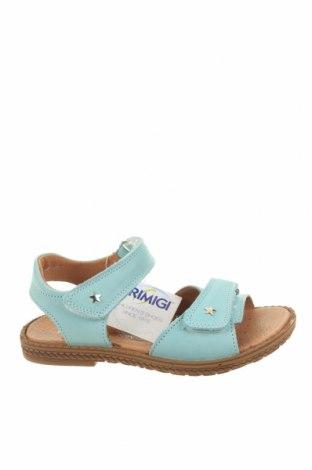 Детски сандали Primigi, Размер 31, Цвят Син, Естествена кожа, Цена 64,97лв.