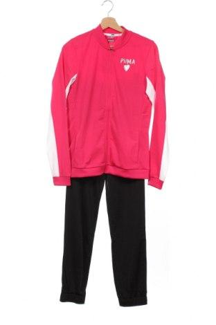 Dětský sportovní komplet  PUMA, Velikost 15-18y/ 170-176 cm, Barva Růžová, Polyester, Cena  942,00Kč