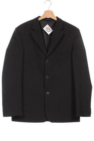 Dětské sako , Velikost 14-15y/ 168-170 cm, Barva Černá, Cena  469,00Kč