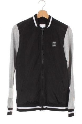 Dětská bunda  DKNY, Velikost 15-18y/ 170-176 cm, Barva Černá, Polyester, Cena  2423,00Kč