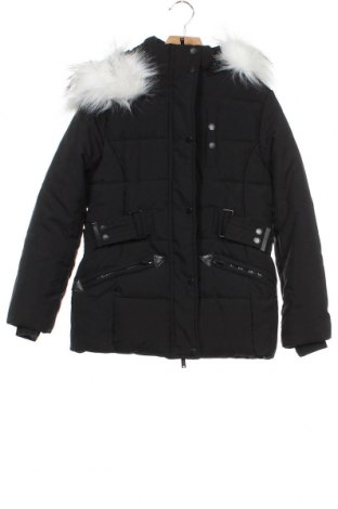 Детско яке Geographical Norway, Размер 11-12y/ 152-158 см, Цвят Черен, Полиестер, Цена 64,40лв.