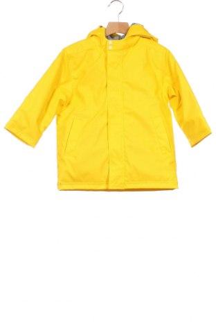 Παιδικό μπουφάν Petit Bateau, Μέγεθος 3-4y/ 104-110 εκ., Χρώμα Κίτρινο, Πολυουρεθάνης, Τιμή 42,14€