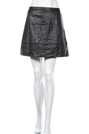 Δερμάτινη φούστα Forever New, Μέγεθος XL, Χρώμα Μαύρο, Δερματίνη, Τιμή 16,05€