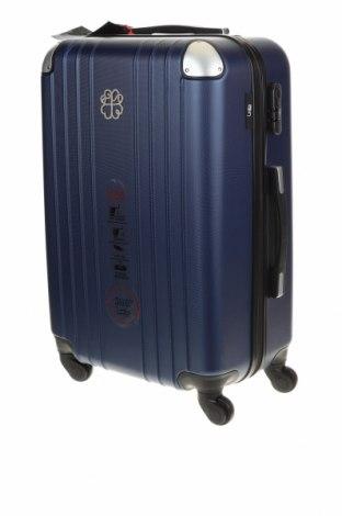 Куфар LPB Les P'tites Bombes, Цвят Син, Полиуретан, Цена 140,16лв.