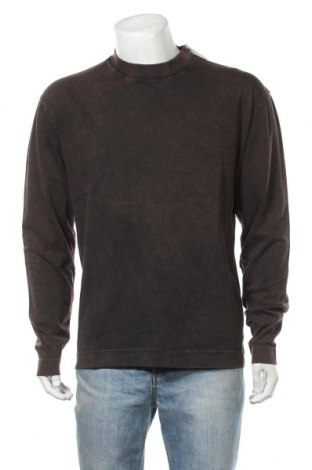 Ανδρική μπλούζα Collusion, Μέγεθος M, Χρώμα Καφέ, Βαμβάκι, Τιμή 16,24€