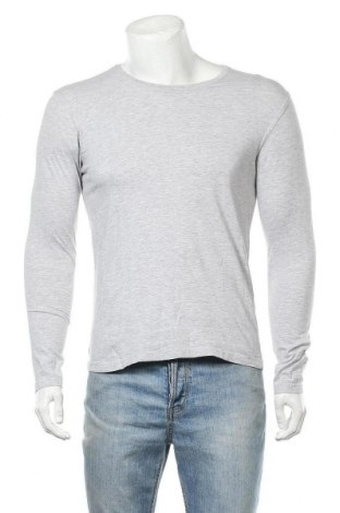 Ανδρική μπλούζα Identic, Μέγεθος M, Χρώμα Γκρί, 95% βαμβάκι, 5% ελαστάνη, Τιμή 10,39€