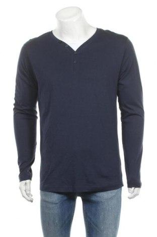 Ανδρική μπλούζα Identic, Μέγεθος M, Χρώμα Μπλέ, Βαμβάκι, Τιμή 11,69€