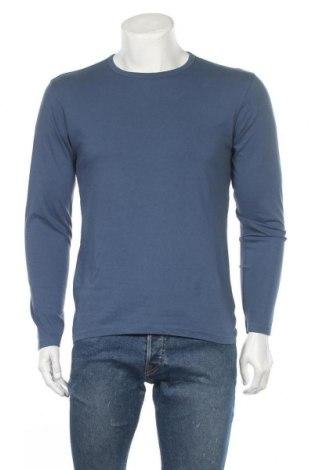 Ανδρική μπλούζα Identic, Μέγεθος M, Χρώμα Μπλέ, Βαμβάκι, Τιμή 10,49€