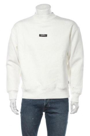 Мъжка блуза Topman, Размер M, Цвят Бял, 70% памук, 30% полиестер, Цена 27,44лв.