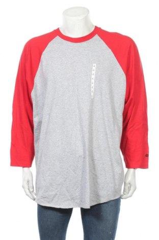 Мъжка блуза Wilson, Размер XXL, Цвят Сив, 90% памук, 10% полиестер, Цена 25,20лв.
