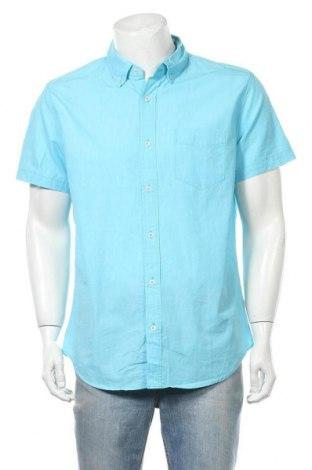 Ανδρικό πουκάμισο Aeropostale, Μέγεθος L, Χρώμα Μπλέ, Βαμβάκι, Τιμή 8,83€