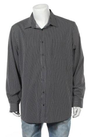 Мъжка риза Angelo Litrico, Размер XXL, Цвят Черен, 65% полиестер, 35% памук, Цена 6,05лв.