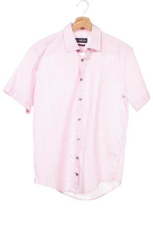 Мъжка риза Camp David, Размер S, Цвят Розов, Памук, Цена 7,37лв.