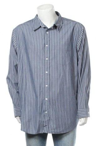 Ανδρικό πουκάμισο Croft & Barrow, Μέγεθος XXL, Χρώμα Μπλέ, 60% βαμβάκι, 40% πολυεστέρας, Τιμή 10,49€