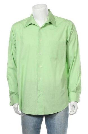 Ανδρικό πουκάμισο Croft & Barrow, Μέγεθος L, Χρώμα Πράσινο, 60% βαμβάκι, 40% πολυεστέρας, Τιμή 9,94€