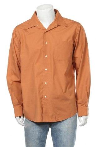 Ανδρικό πουκάμισο Croft & Barrow, Μέγεθος L, Χρώμα Καφέ, 60% βαμβάκι, 40% πολυεστέρας, Τιμή 10,52€