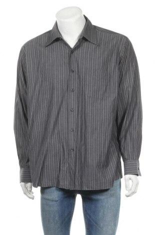Ανδρικό πουκάμισο Daniel Hechter, Μέγεθος XL, Χρώμα Γκρί, Βαμβάκι, Τιμή 14,29€