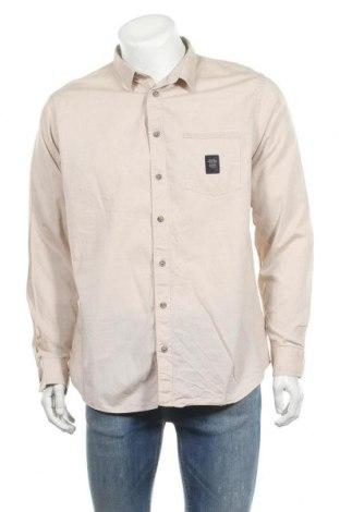 Ανδρικό πουκάμισο Daniel Hechter, Μέγεθος XL, Χρώμα  Μπέζ, Βαμβάκι, Τιμή 22,27€