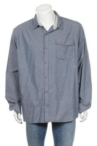 Ανδρικό πουκάμισο Denver Hayes, Μέγεθος XXL, Χρώμα Μπλέ, 97% βαμβάκι, 3% ελαστάνη, Τιμή 11,69€