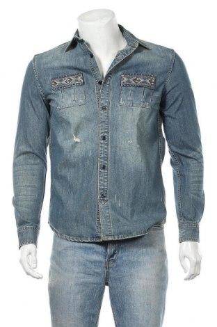 Pánská košile  Desigual, Velikost S, Barva Modrá, 56% bavlna, 24% polyester, 20% viskóza, Cena  1259,00Kč