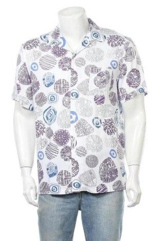 Мъжка риза Desigual, Размер XL, Цвят Многоцветен, Вискоза, Цена 17,85лв.