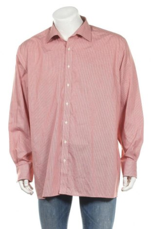 Мъжка риза Eterna  Excellent, Размер XXL, Цвят Червен, Памук, Цена 6,30лв.
