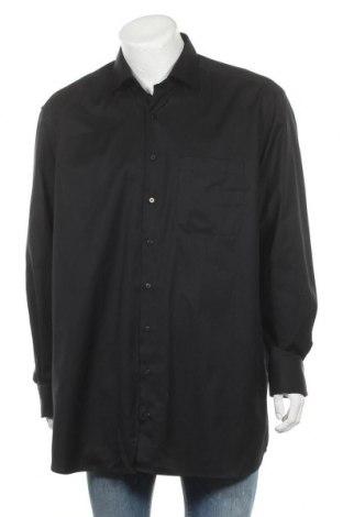 Ανδρικό πουκάμισο Eterna, Μέγεθος XXL, Χρώμα Μαύρο, Τιμή 24,03€