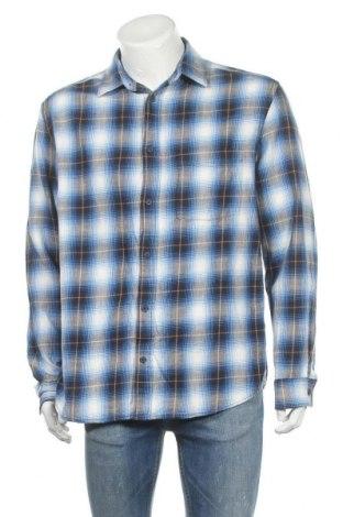 Ανδρικό πουκάμισο H&M L.O.G.G., Μέγεθος L, Χρώμα Μπλέ, Βαμβάκι, Τιμή 11,69€