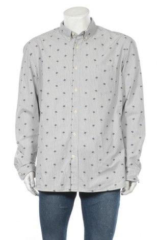 Ανδρικό πουκάμισο H&M L.O.G.G., Μέγεθος XL, Χρώμα Μπλέ, Βαμβάκι, Τιμή 12,96€