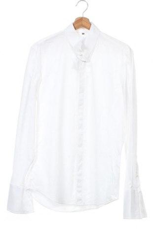 Ανδρικό πουκάμισο Jake*s, Μέγεθος M, Χρώμα Λευκό, 97% βαμβάκι, 3% ελαστάνη, Τιμή 13,92€