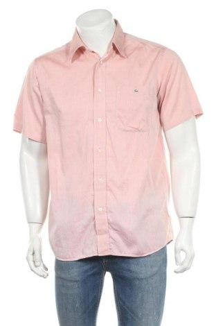 Ανδρικό πουκάμισο Lacoste, Μέγεθος M, Χρώμα Ρόζ , Βαμβάκι, Τιμή 11,69€
