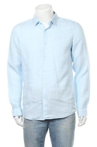 Ανδρικό πουκάμισο McNeal, Μέγεθος M, Χρώμα Μπλέ, Λινό, Τιμή 24,74€