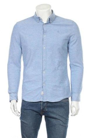 Ανδρικό πουκάμισο McNeal, Μέγεθος M, Χρώμα Μπλέ, 98% βαμβάκι, 2% ελαστάνη, Τιμή 22,43€