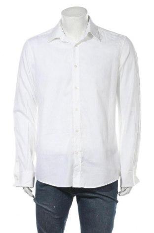 Ανδρικό πουκάμισο Mexx, Μέγεθος L, Χρώμα Λευκό, Βαμβάκι, Τιμή 9,29€