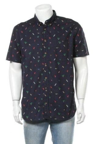 Мъжка риза Montego, Размер XL, Цвят Син, Памук, Цена 42,00лв.