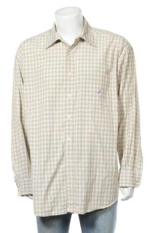 Ανδρικό πουκάμισο Nautica, Μέγεθος XXL, Χρώμα  Μπέζ, Βαμβάκι, Τιμή 17,54€