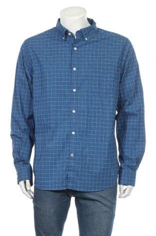 Ανδρικό πουκάμισο Nautica, Μέγεθος XL, Χρώμα Μπλέ, 98% βαμβάκι, 2% ελαστάνη, Τιμή 18,19€