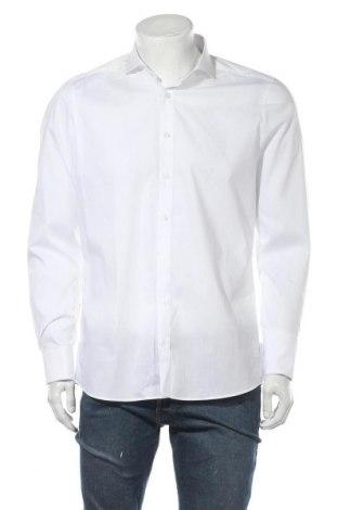 Pánská košile  Olymp, Velikost L, Barva Bílá, 97% bavlna, 3% elastan, Cena  609,00Kč