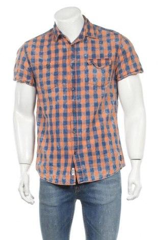 Мъжка риза Originals By Jack & Jones, Размер L, Цвят Многоцветен, Памук, Цена 18,95лв.