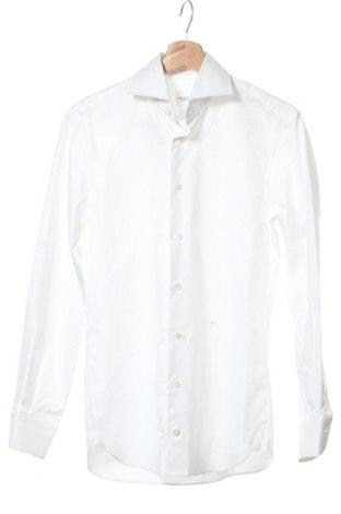 Ανδρικό πουκάμισο Paul Rosen, Μέγεθος S, Χρώμα Λευκό, Βαμβάκι, Τιμή 39,89€