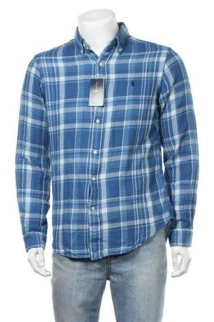 Ανδρικό πουκάμισο Polo By Ralph Lauren, Μέγεθος M, Χρώμα Μπλέ, Βαμβάκι, Τιμή 37,15€