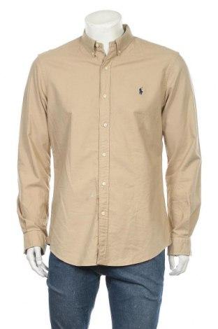 Pánská košile  Ralph Lauren, Velikost L, Barva Hnědá, 100% bavlna, Cena  1365,00Kč